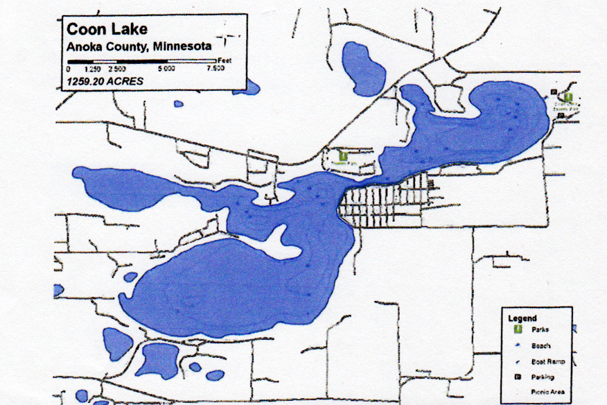 Homes For Sale On Coon Lake East Bethel Mn